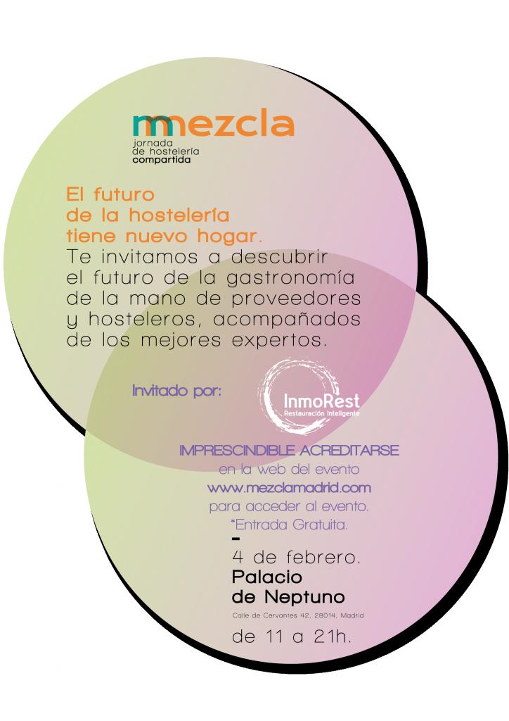 Mezcla 2019. InmoRest Consultores te invita al evento.